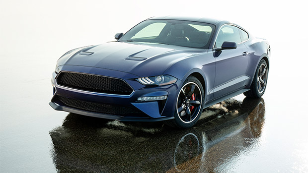 Ford raises funds for medical research by giving away the iconic Mustang Kona Blue