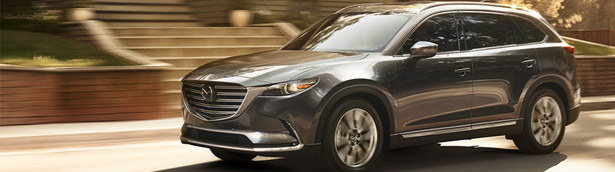 Mazda showcases trim level details for the new CX-90 SUV