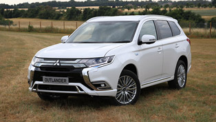 mitsubishi reveals details about the latest outlander phev