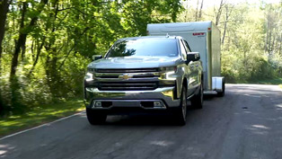 Chevy team showcases Silverado's trailering capabilities