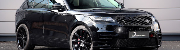 B&B team proudly unveil the revised Velar beast