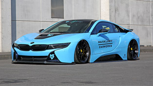 Maxcklusiv reveals enhanted BMW i8