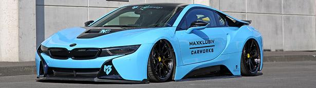 Maxcklusiv reveals enhanted BMW i8