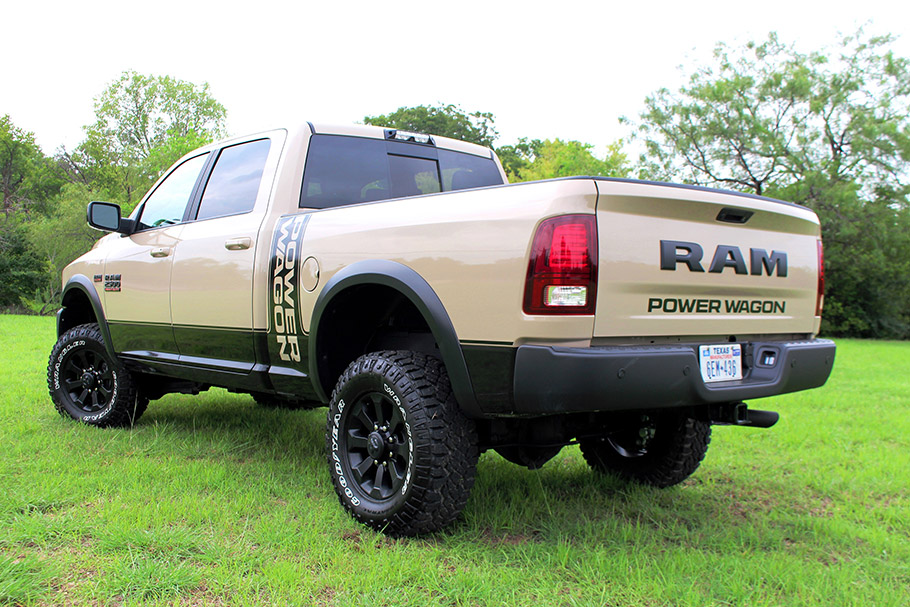 2018 Ram Power Wagon Mojave Sand Package