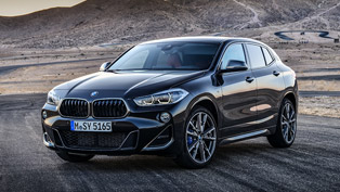 sporty and elegant, the new 2019 bmw x2 m35i hits the roads!