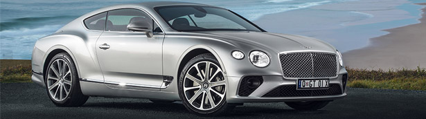 Bentley reveals new Continental GT vehicle. Check it out!