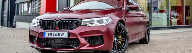 DTE Systems installs PowerControl function on a lucky BMW M5 machine
