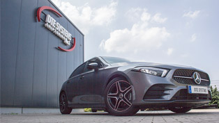 dte systems improves performance of a lucky mercedes a-class