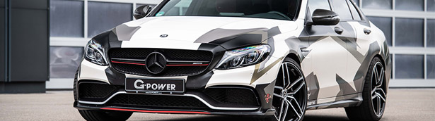 G-POWER refines a mighty Mercedes-AMG C 63 beast