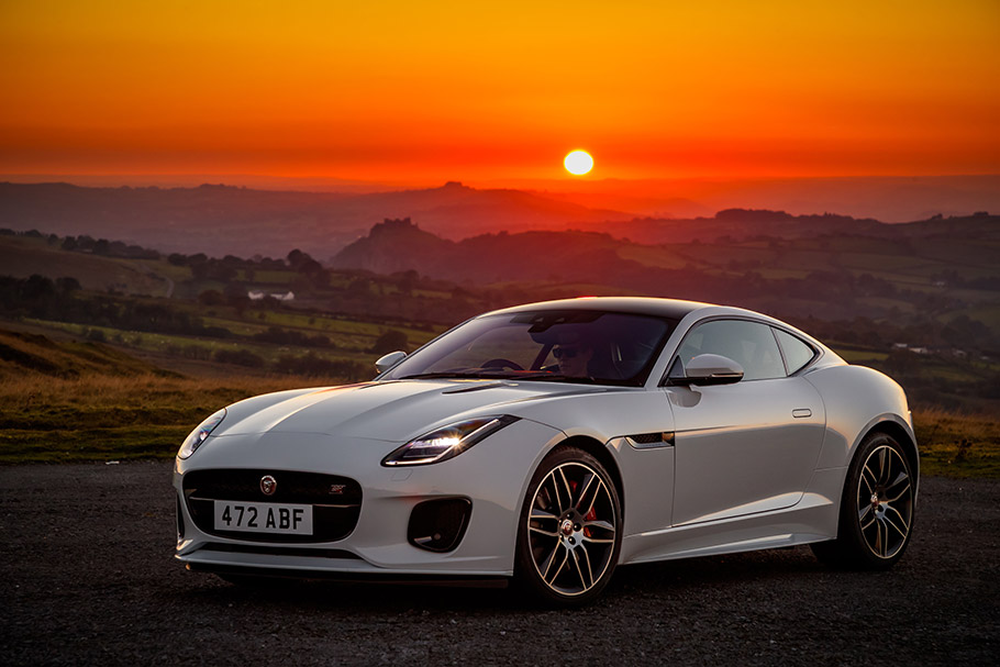 2018 Jaguar F-TYPE Chequred Flag Edition
