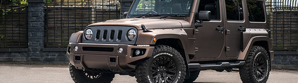 Jeep Wrangler Night Eagle receives comprehensive upgrade by Kahn Design