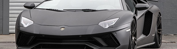 Wheelsandmore take a closer look at a Lambo Aventador beauty