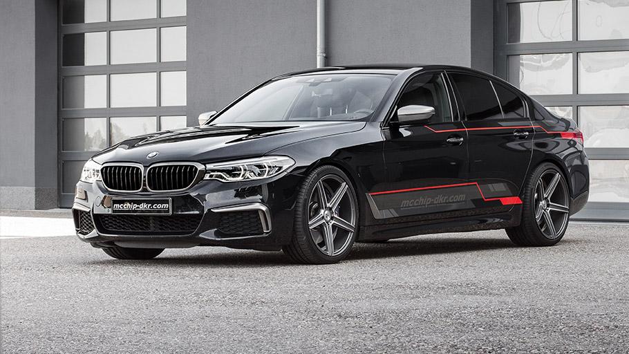 2018 mcchip dkr BMW M550d xDrive G30