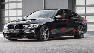 A lucky BMW M5 receives neat upgrades from mcchip-dkr studio