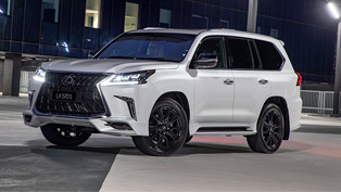 lexus showcases details for the new lx 570 s suv