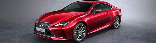 Lexus announces details about new LC 300h lineup