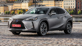 Lexus proudly presents new UX 250h Hybrid machine