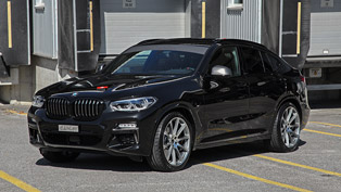 a swiss tuning studio finds ways to make the iconic bmw x4 even more appealing