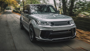 a lucky range rover sport undergoes exclusive kahn design surgery