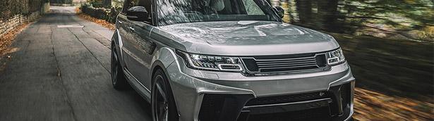A lucky Range Rover Sport undergoes exclusive Kahn Design Surgery