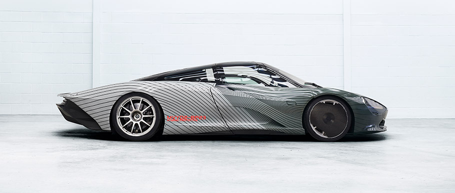 2018 McLaren Speedrtail Attribute Prototype Albert