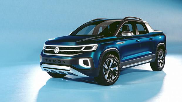 Volkswagen team proudly unveils new Tarok Concept