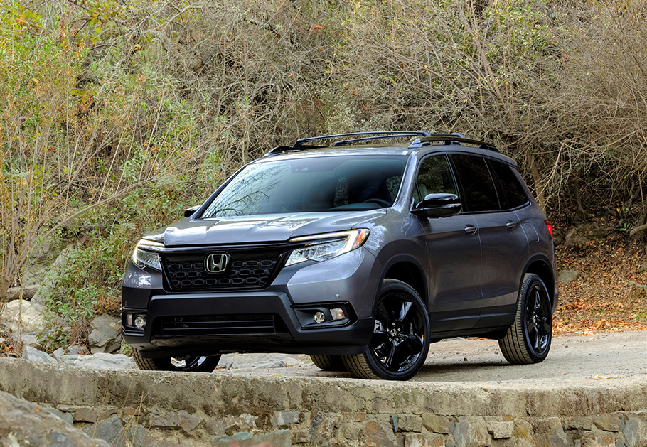 Honda Reveals New Passport Suv