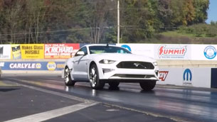 Justin Dugan's 2019 Mustang Takes On The Strip Stock