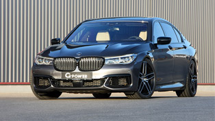 g-power proudly presents new m760li g11 tuning project