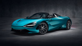 McLaren presents new 720 S Spider sports car! Check it out!