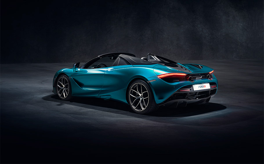 Mclaren Presents New 720s Spider Model