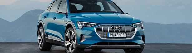 Audi presents new e-tron Launch Edition model
