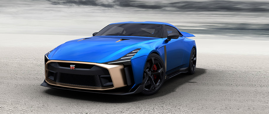 2019 Italdesign Nissan GT-R50
