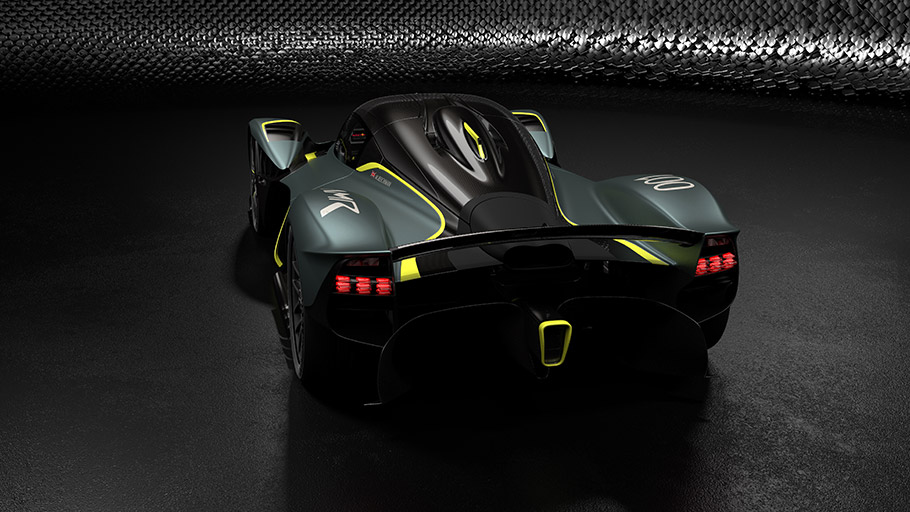 2019 Aston Martin Valkyrie AMR Track Performance