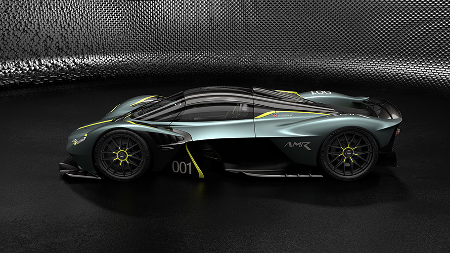 2019 Aston Martin Valkyrie AMR Track Performance