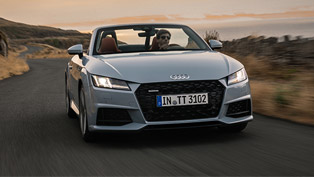 audi reveals new 20th anniversary tt model