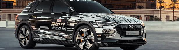 Audi reveals new entertainment technologies at CES in Las Vegas