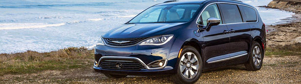 Chrysler receives prestigious award for its all-electric Pacifica van