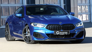 g-power team showcases a revised m850i machine. check it out!