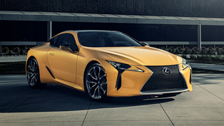 LC 500 Inspiration Series comes in April! Here are details!
