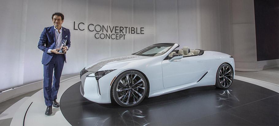 2019 Lexus LC Convertible Concept