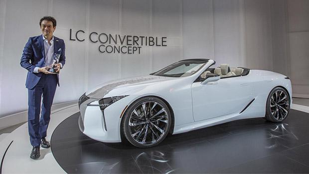 Lexus team reveals stunning new concept at 2019 EyesOn Design Award event