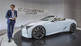 Lexus team reveals stunning new concept at 2019 EyesOn Design Award event