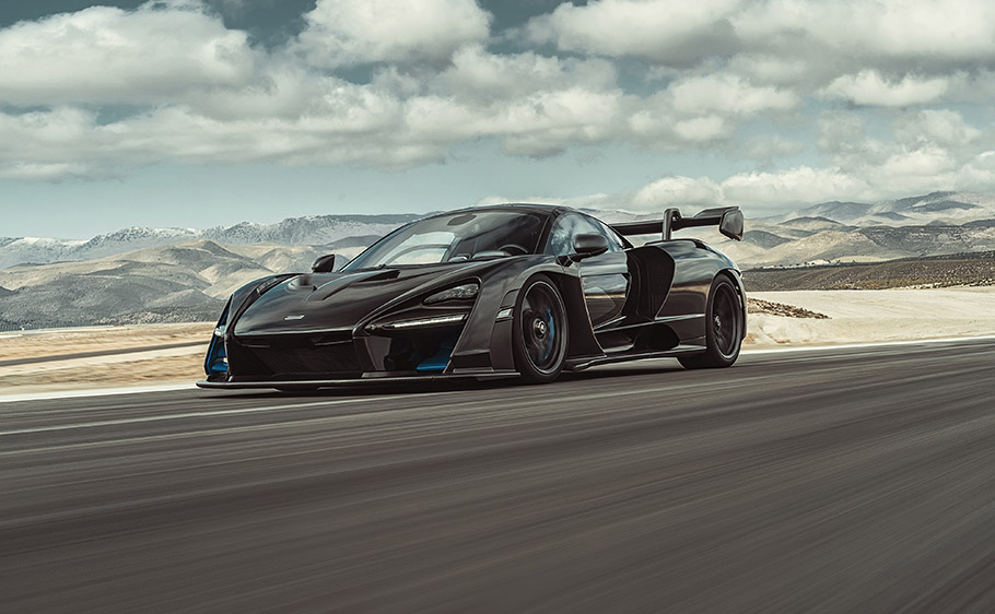 2019 McLaren Senna and LT600