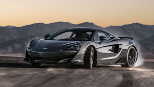 McLaren team presents new Senna and LT600 at Beirut Motor Show!