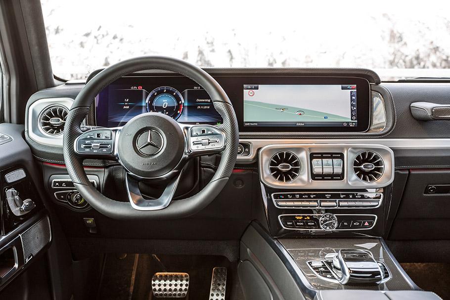 2019 Mercedes-Benz G-350 d