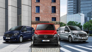 mercedes expands its vito lineup. check out the new guys!