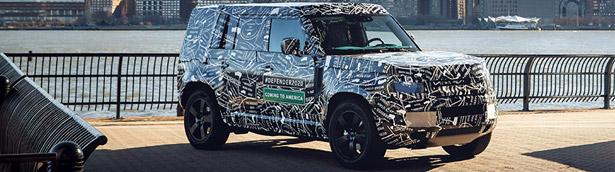 Land Rover team announces details about 2020 Defender