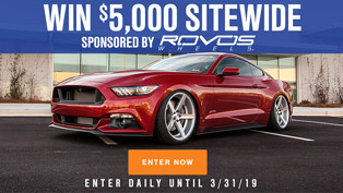 AmericanMuscle $5,000 Sitewide Giveaway