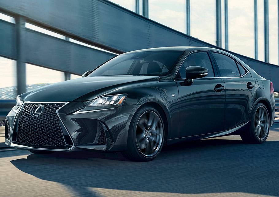 2019 Lexus IS 300 F Sport Black Line Edition